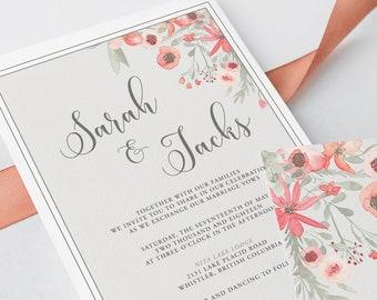 Wedding Invitations - Let's Tango (Style 13802)