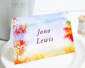 Place Cards - Falling for Love (Style 13562)