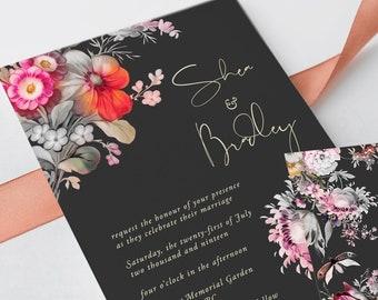 Wedding Invitations - Japanese Garden (Style 13861)