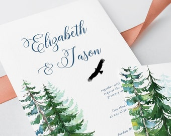 Wedding Invitations - Westcoast Wed (Style 13631)