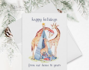 Holiday Note Card Set - From Our Home to Yours (HC14)