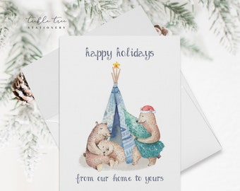 Holiday Note Card Set - From Our Home to Yours (HC15)