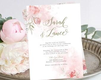 Wedding Invitations - Mystic Garden (Style 13830)