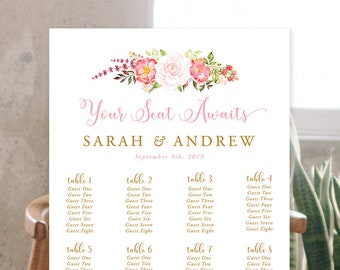 Seating Chart - Our Embrace (Style 13848)
