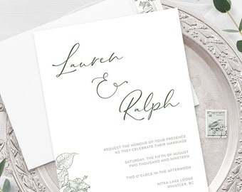 Wedding Invitations - Meadow (Style 13903)