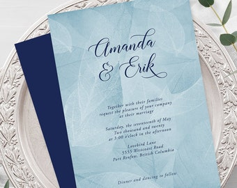 Wedding Invitations - West Coast Whisper (Style 13934)