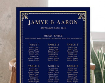Seating Chart - The Great Gatsby (Style 13875)