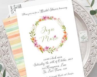 Wedding Invitations - Wildflower (Style 13513)