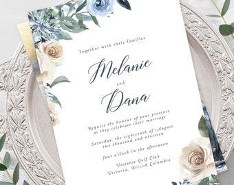 Wedding Invitations - Swan Lake (Style 13863)