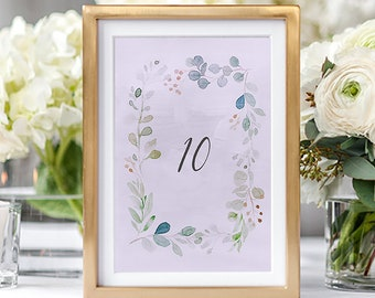 Table Numbers/Table Decor - Enchanted (Style 13852)