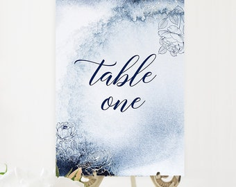 Table Numbers/Table Decor - Whistler Winds (Style 13760)