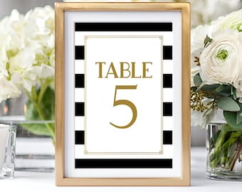Table Numbers/Table Decor - The Great Gatsby (Style 13876)