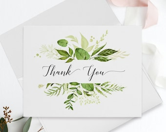 Thank You Cards - Whispering Garden (Style 13799)