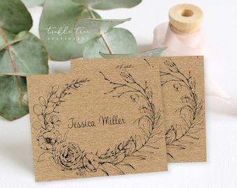 Place Cards/Table Decor - Rustic Simplicity (Style 13956)