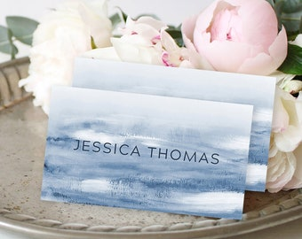 Place Cards - Indigo Wind (Style 13899)