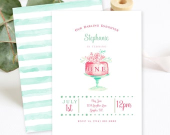Birthday Party Invitations - Let Them Eat Cake! (Style 13754)
