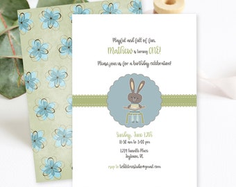 Birthday Party Invitations/Packages - Playful and Full of Fun! Boy's Birthday (Style 13026)