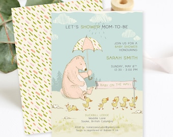 Baby Shower Invitations - Shower Mom to Be (Style 13925)