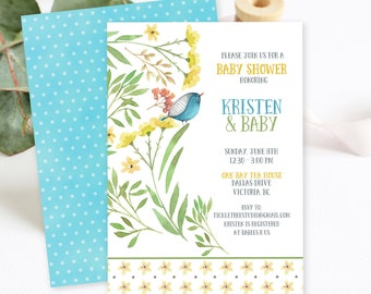 Baby Shower Invitations/Packages - New Blooms (Style 13456)