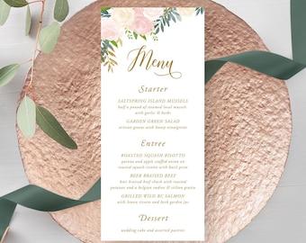 Menus/Table Decor - Blush & Bloom (Style 13870)