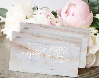 Place Cards - Elegance & Bloom (Style 13808)