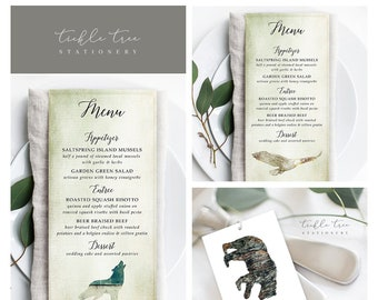 Day Of Packages/Table Decor - Woodlands Wedding (Style 13768)