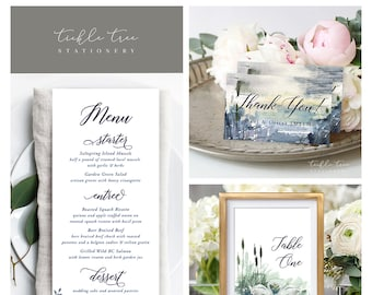 Day Of Packages/Table Decor - Swan Lake 2 (Style 13864)
