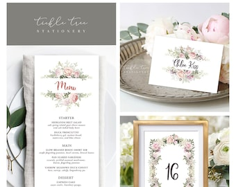 Day Of Packages/Table Decor - Roses in Bloom (Style 13807)