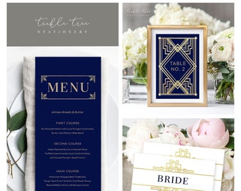 Day Of Packages/Table Decor - The Great Gatsby (Style 13875)