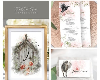 Day Of Packages/Table Decor - Dreamy Garden (Style 13830)