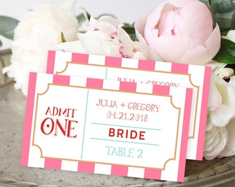Place Cards - Carnival Fun (Style 13773)