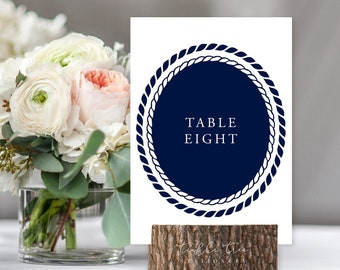 Table Numbers/Table Decor - Marina Bay (Style 13795)