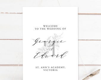 Welcome Sign - Modern Simplicity (13957)