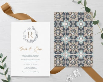 Wedding Invitations - Moroccan Style (13958)