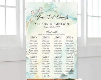 Seating Chart/Design & Printing or Printable File - Nature's Dreamers (Style 13821)