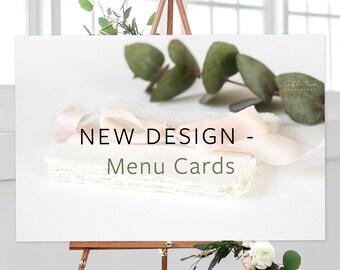 Menus, New Design