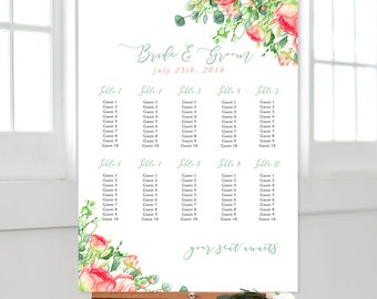 Seating Chart - Country Charm (Style 13798)