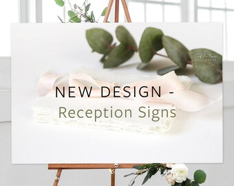 Reception Signs - Semi-Custom/Any Shop Design or New Design