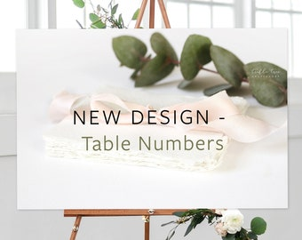 Table Numbers, New Design