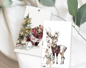 Christmas Gift Tags - A Westcoast Winter (Style 13993)
