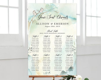 Seating Chart - Nature's Dreamers (Style 13821)