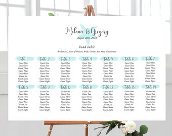 Seating Chart - Beach Side (Style 13820)