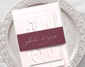 Wedding Invitations - Wings of Love (Style 13743)