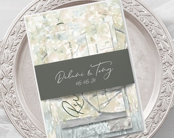 Wedding Invitations - Our Walk (Style 13909)