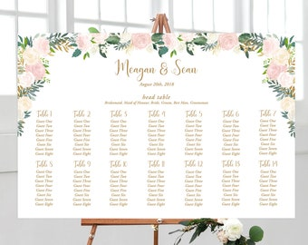 Seating Chart - Dusty Pink (Style 13827)