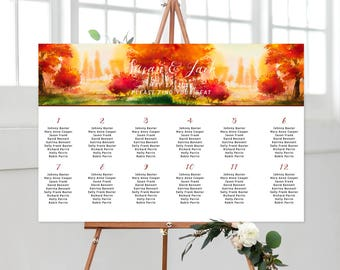 Seating Chart - Falling In Love (Style 13562)