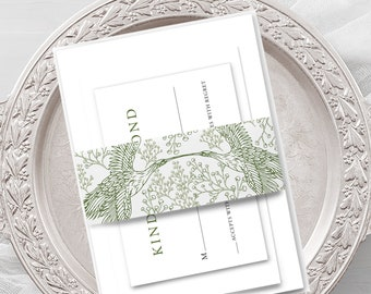 Wedding Invitations - Birds in Flight (Style 13967)