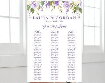 Seating Chart - Sweet Marie (Style 13797)