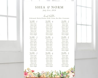Seating Chart - Mountainside Meadow (Style 13751)