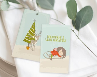 Christmas Gift Tags - Christmas is Almost Here! (Style 14001)